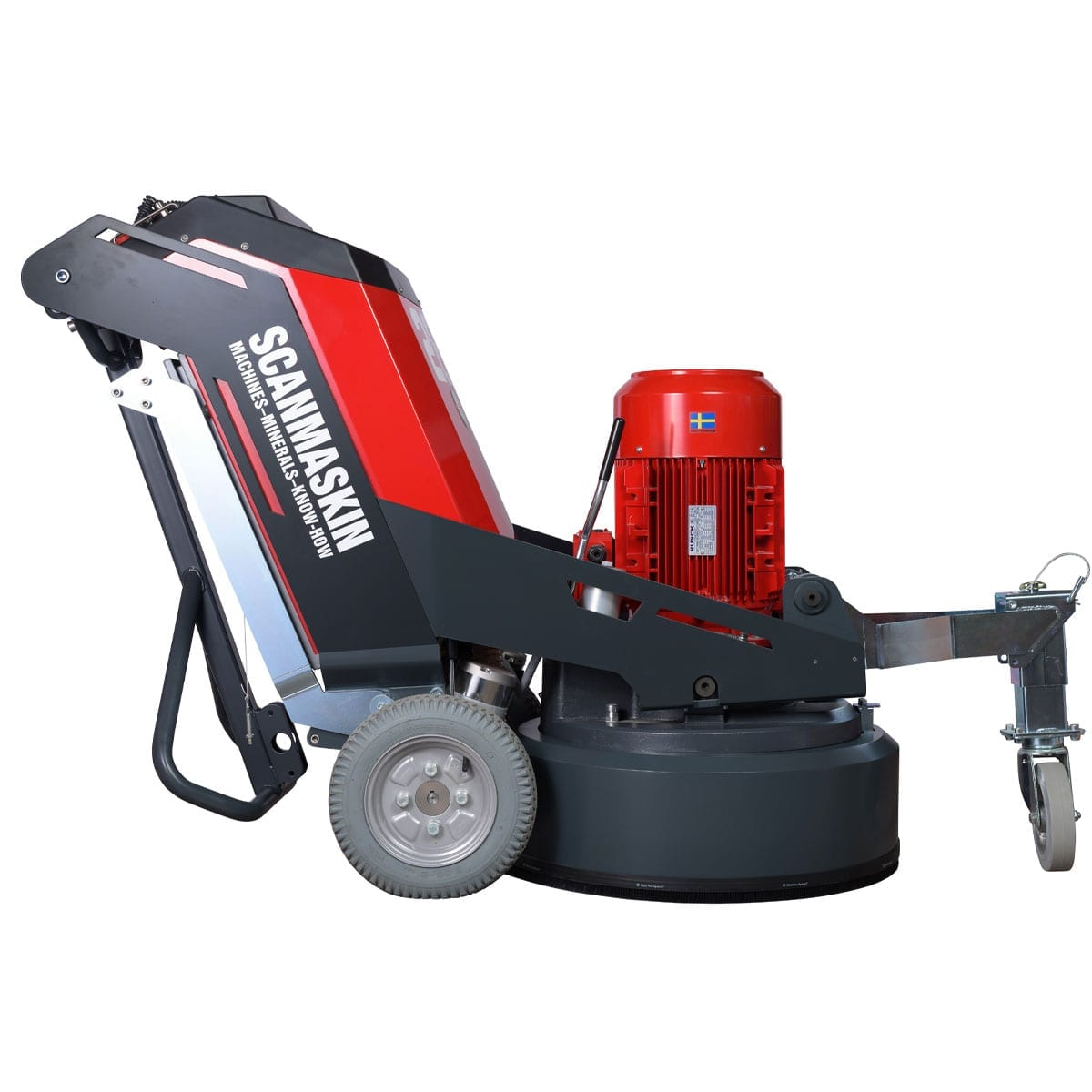 Right Scanmaskin 28 World Series Concrete Grinder 230 and 400 Volt Turning Point Supply