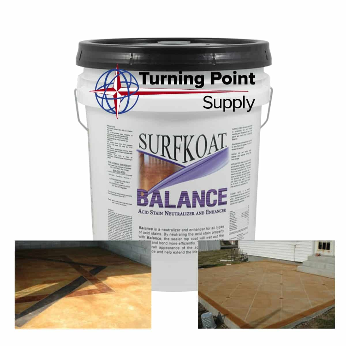 Balance Neutralizing Agent and Acid Stain Enhancer South Carolina North Carolina