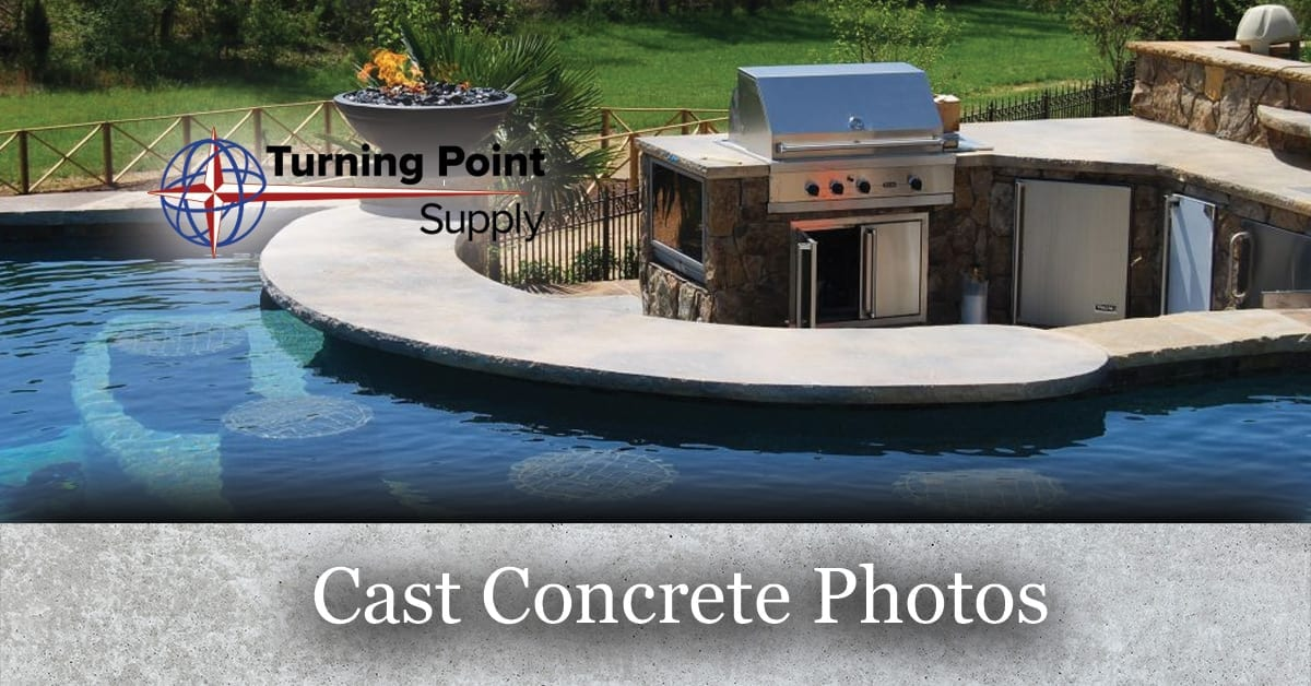 Concrete Casting Photos Turning Point Supply - North Carolina