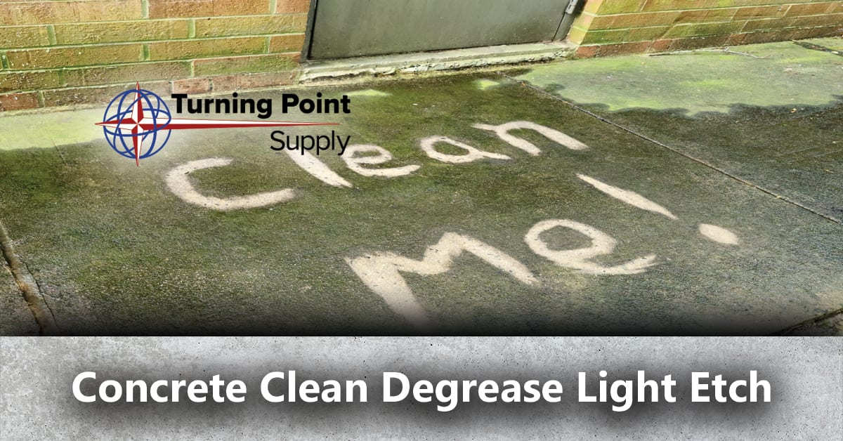 Concrete Clean Degrease Light Etch Products