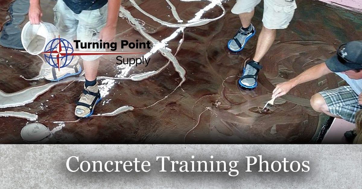 Concrete Training Class Photos - Turning Point Supply - North Carolina