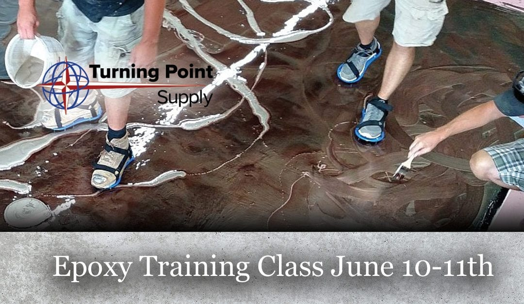 Epoxy Floor Coatings Class, 2 DAY CLASS – JUNE 10th AND 11th, 2020