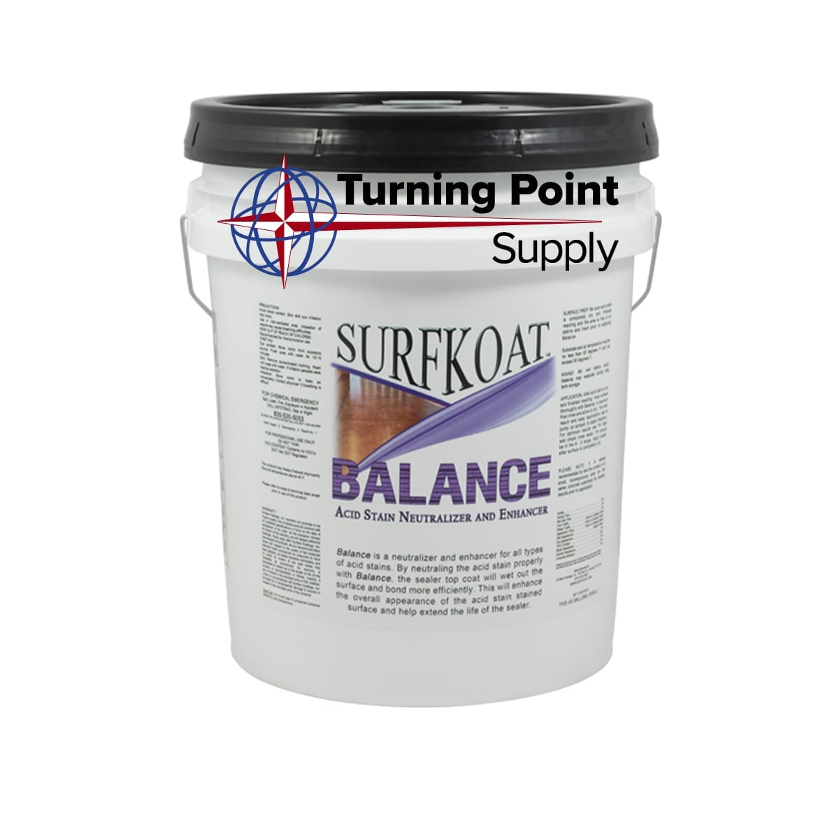 Balance Neutralizing Agent and Acid Stain Enhancer Charlotte and Raleigh North Carolina