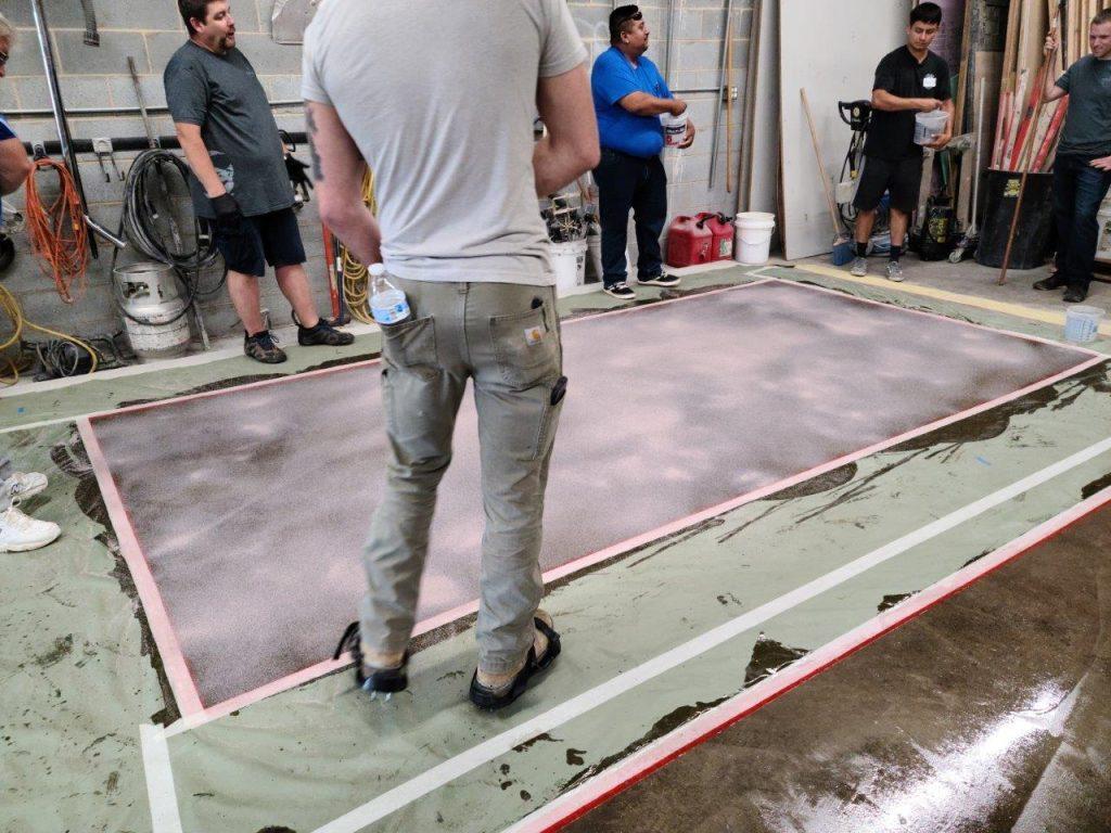 Epoxy Quarts Floor System