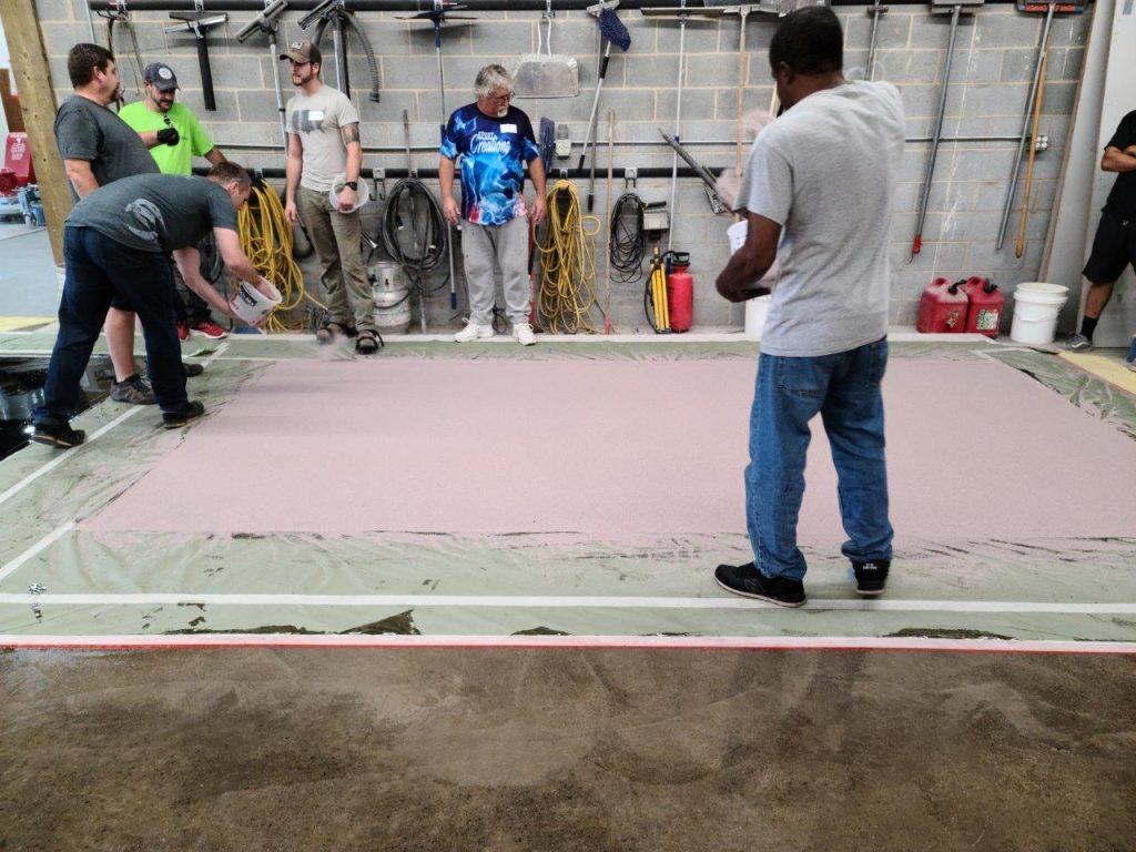 1 Epoxy Quarts Floor System