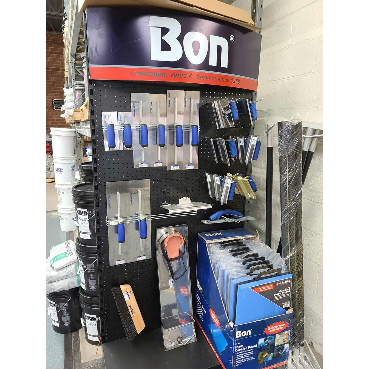 Bon Tools Display Charlotte Raleigh North Carolina