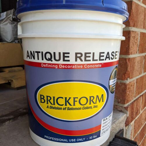 Brickform Concrete Powder Release Charlotte Raleigh North Carolina
