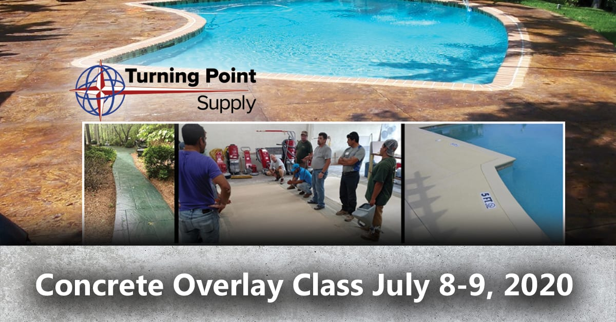 Concrete Overlay Class Charlotte NC July 8-9th 2020