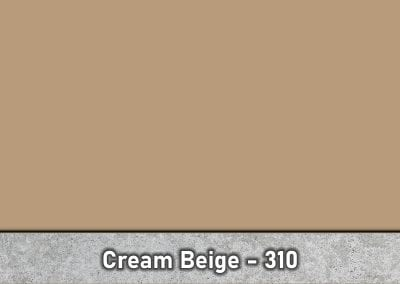 Cream Beige - Stamped Concrete Powder Release - Antique Release by Brickform - Special Order - Part # - 310