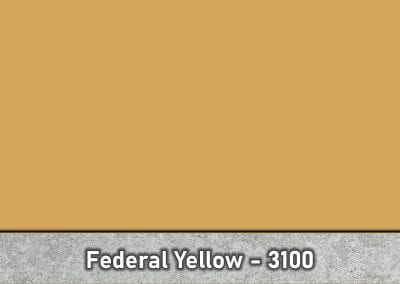 Federal Yellow - Stamped Concrete Powder Release - Antique Release by Brickform - Special Order - Part # - 3100