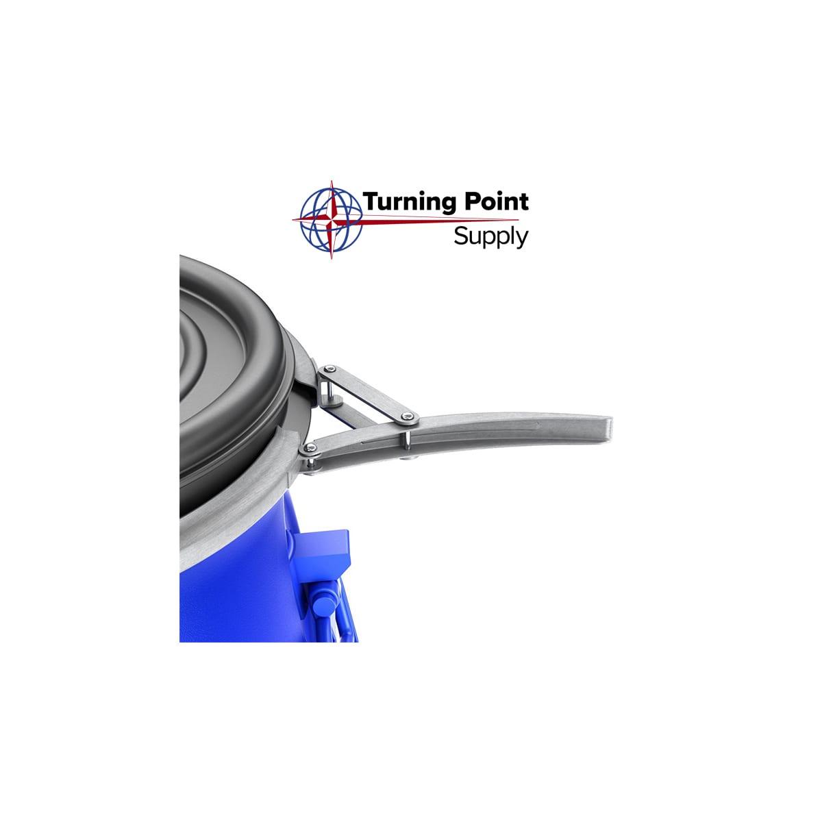 Locking Lid MIXING BARREL -15 GALLON PLASTIC by Bon Tools - 22-816