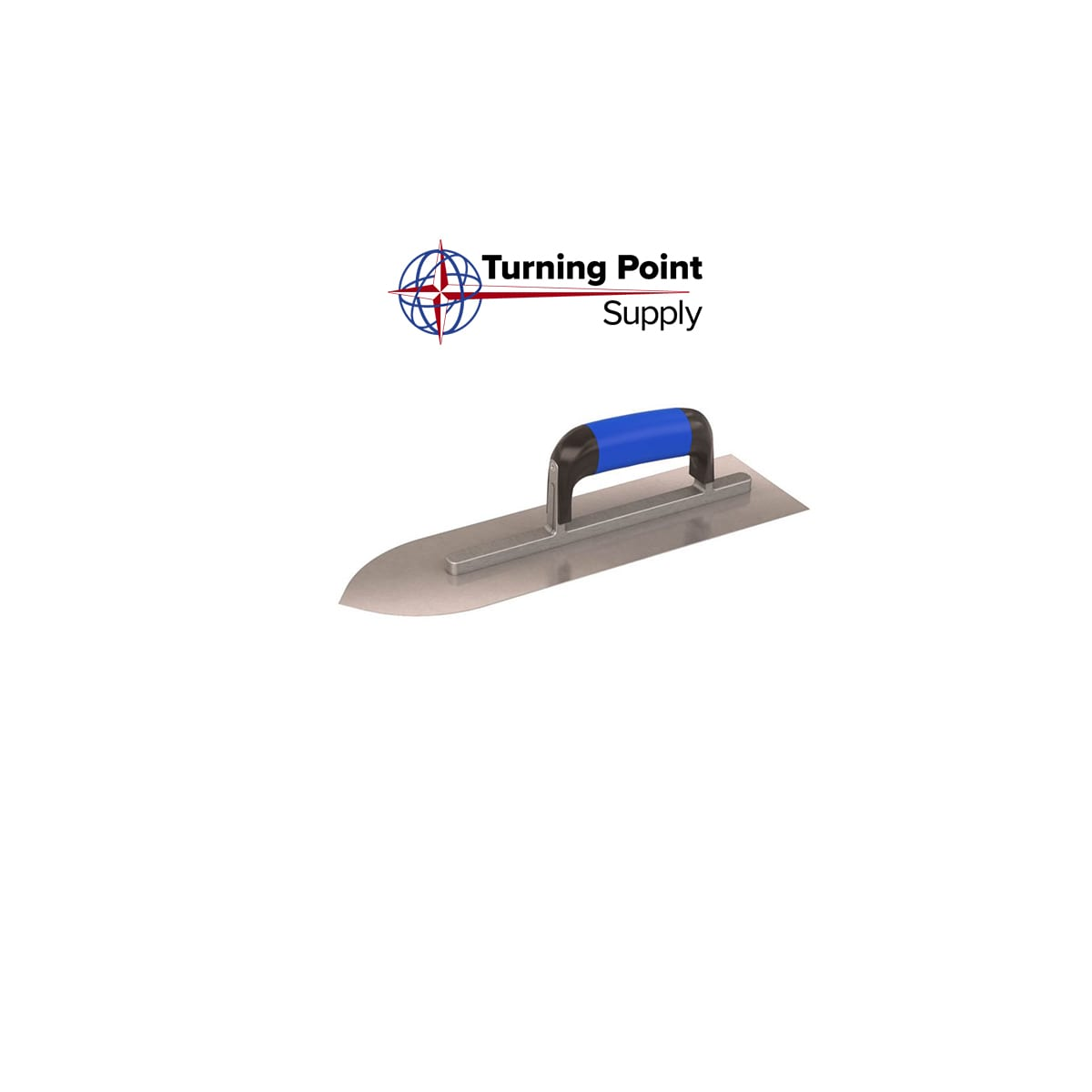 "POINTED FRONT TROWEL - 14"" X 4"" COMFORT GRIP  - 13-523"