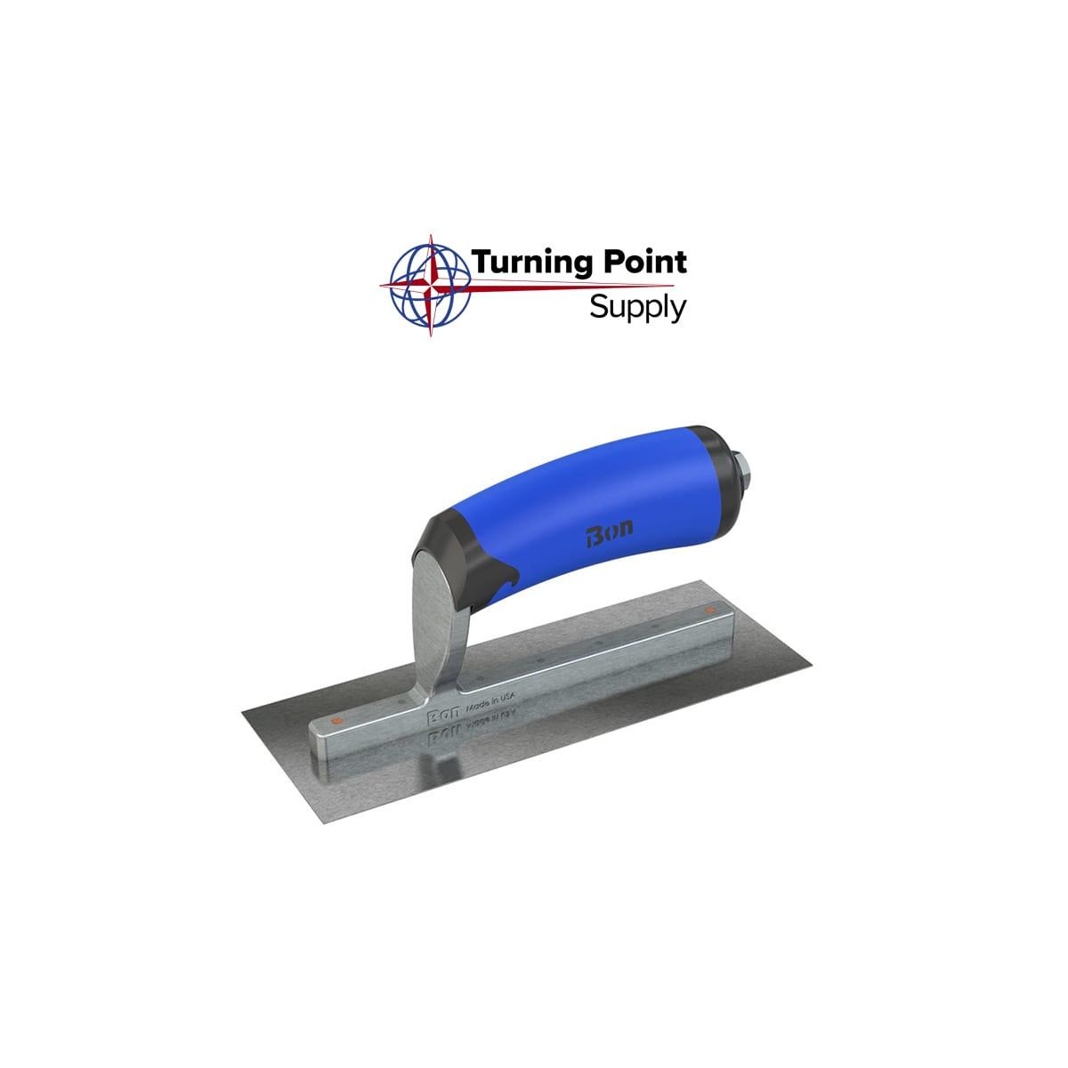 Right CARBON STEEL MIDGET TROWEL - 8 X 3 - Bon Tools 67-250