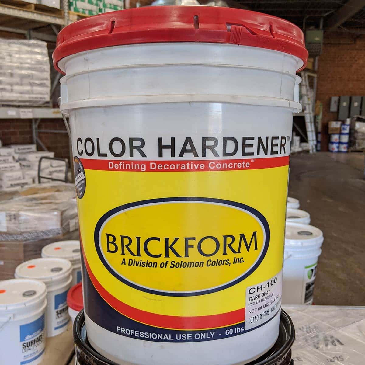 Concrete Color Hardener - by Brickform 42 Colors