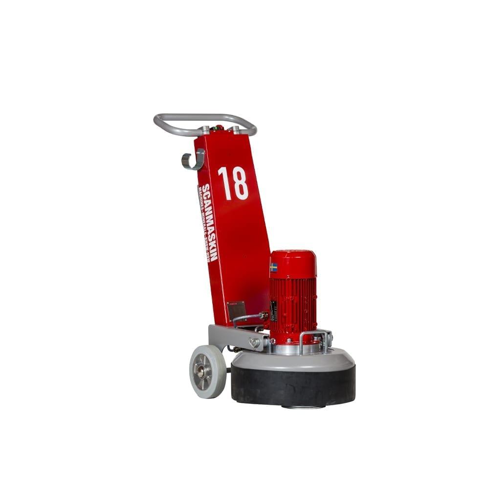 Scanmaskin 18″ Concrete Grinder 110 or 230 Volt