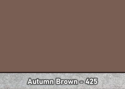 Autumn Brown 425 Concrete Color Hardener by Brickform available at Turning Point Supply Charlotte and Raleigh North Carolina locations.