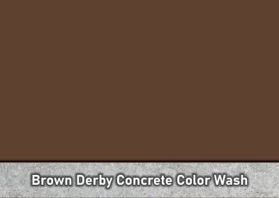 Brown Derby – Concrete Accenting Colorant (3lb) Eco-Accent SKU: 35103003-04 | UPC: 842467106594