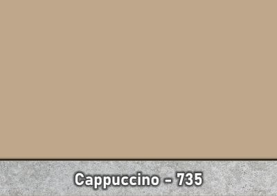 Cappuccino 735 Concrete Color Hardener by Brickform available at Turning Point Supply Charlotte and Raleigh North Carolina locations.