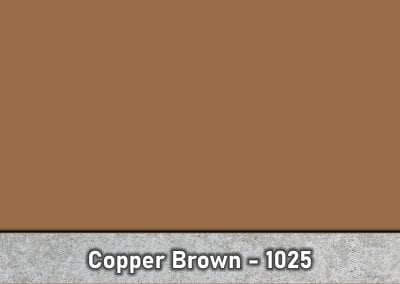 Copper Brown 1025 Concrete Color Hardener by Brickform available at Turning Point Supply Charlotte and Raleigh North Carolina locations.