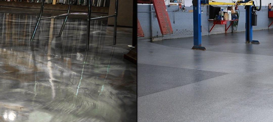 Epoxy Flake and Epoxy Metallic Flooring Products