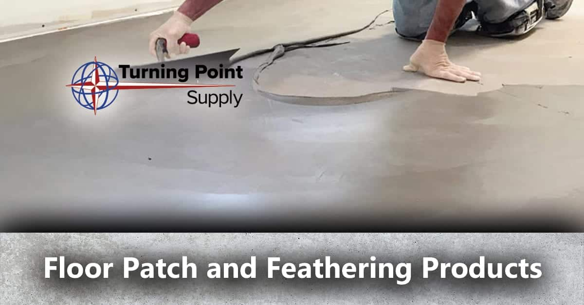 Concrete Floor Patch and Feathering Products