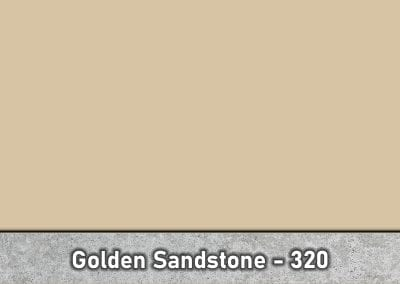 Golden Sandstone 320 Concrete Color Hardener by Brickform available at Turning Point Supply Charlotte and Raleigh North Carolina locations.