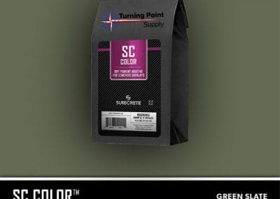 Color Pack for Concrete Overlay Mixes, Green Slate - 35103004-14
