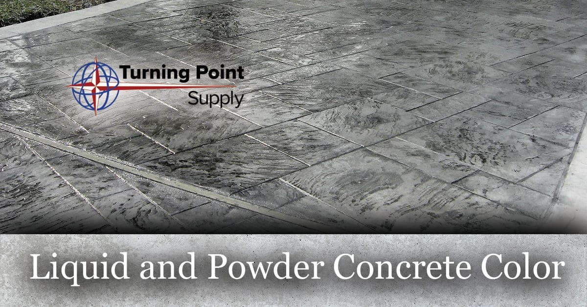 Liquid and Powder Concrete Color Products