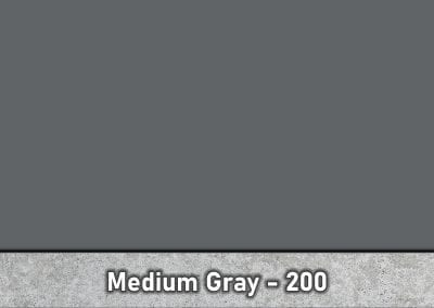 Medium Gray 200 Concrete Color Hardener by Brickform
