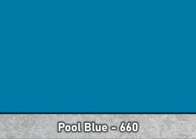 Pool Blue 660 Concrete Color Hardener by Brickform available at Turning Point Supply Charlotte and Raleigh North Carolina locations.