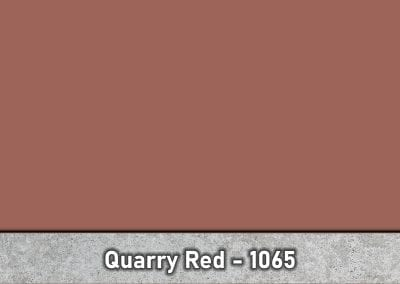 Quarry Red 1065 Concrete Color Hardener by Brickform available at Turning Point Supply Charlotte and Raleigh North Carolina locations.