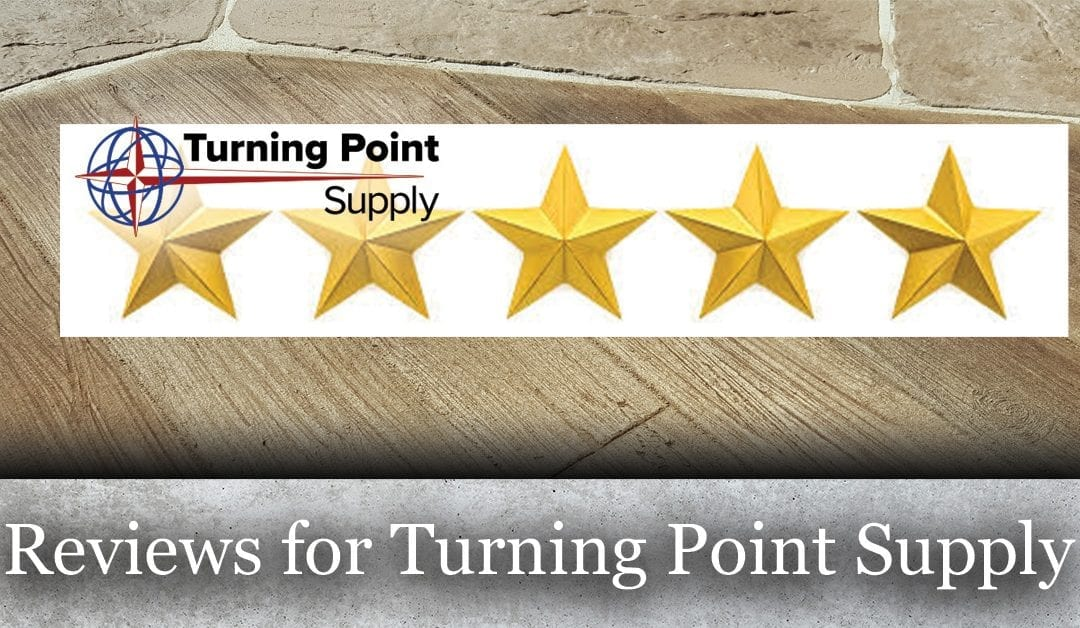 Reviews for Turning Point Supply – Concrete Products