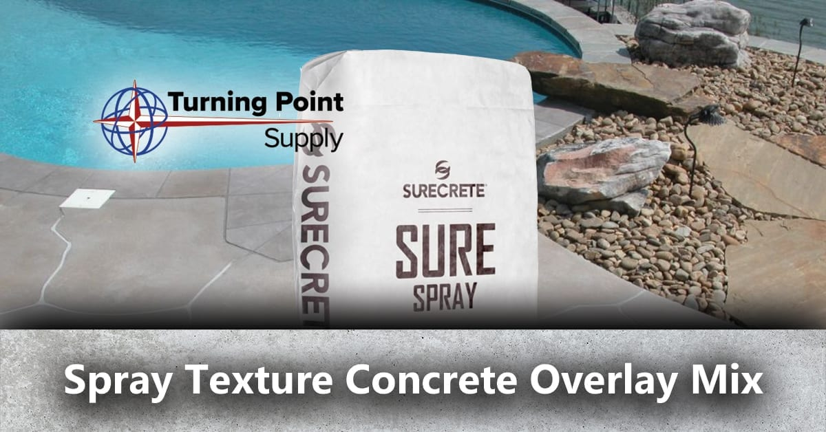 Spray Texture Concrete Overlay Mix