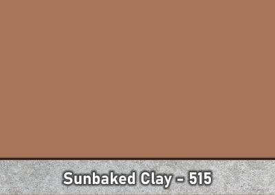 Sunbaked Clay 515 Concrete Color Hardener by Brickform available at Turning Point Supply Charlotte and Raleigh North Carolina locations.