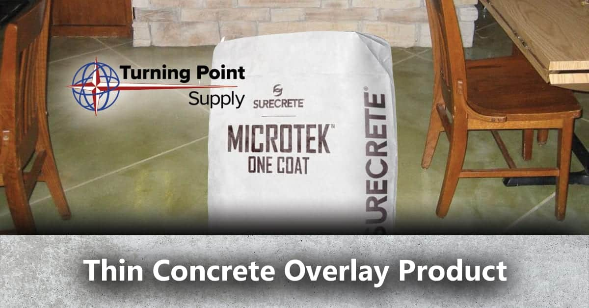Thin Concrete Overlay Product