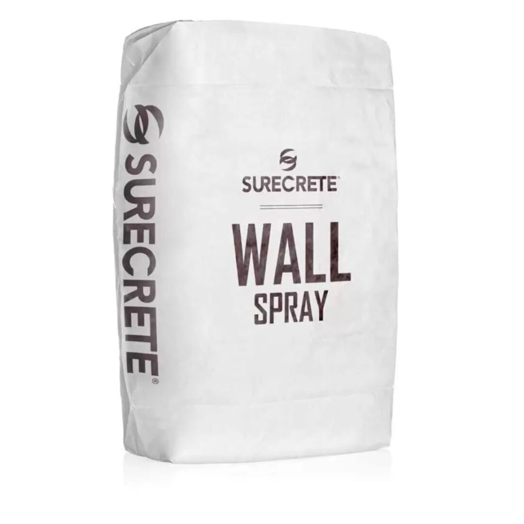 WallSpray | Vertical Thin Concrete Overlay Bag Mix