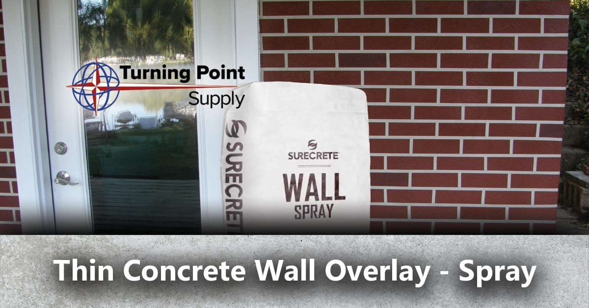 lightweight thin concrete texture overlay system