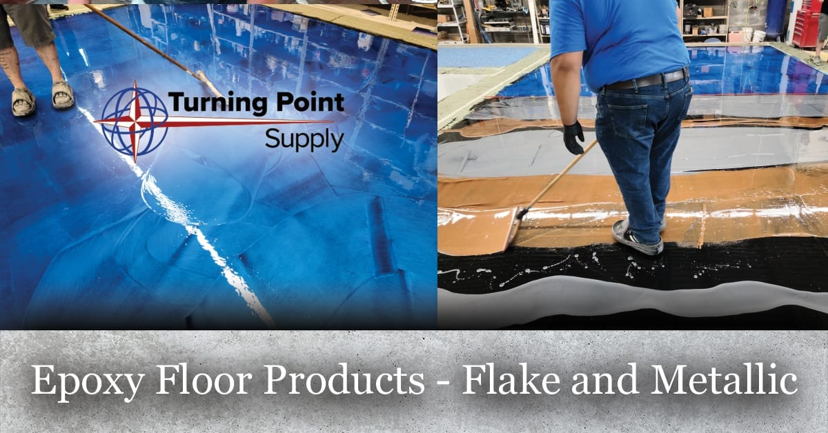 colored epoxy floor products, metallic additive for epoxy floor systems, flakes for epoxy flake flooring system