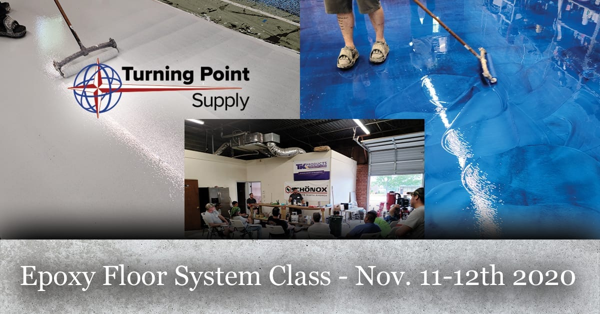Epoxy Floor System Class - Nov. 11-12th 2020