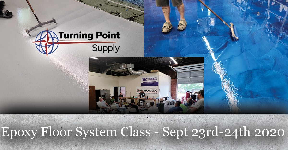 Epoxy Floor System Class - Sept 23rd-24th 2020