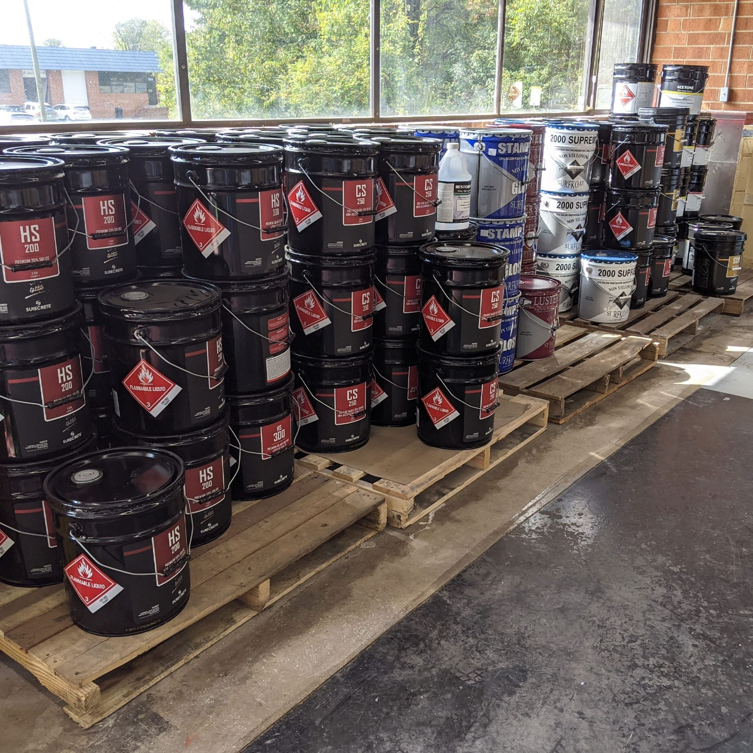 Clear Concrete Sealers In Stock