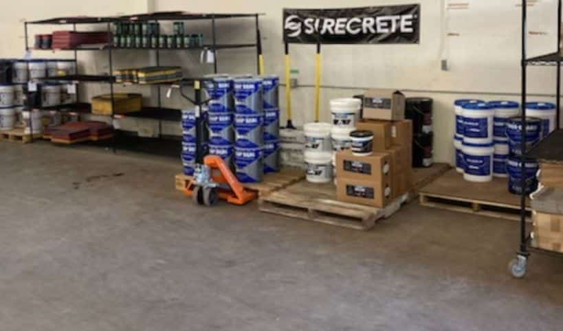 concrete floor Epoxy and sealers