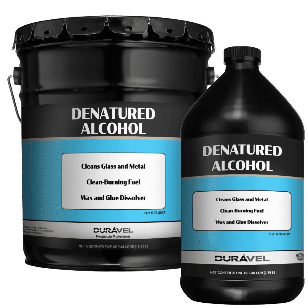 Denatured Alcohol 1 Gallon and 5 Gallons