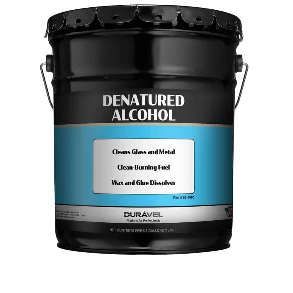 Denatured Alcohol 5 Gallon Hexone Methanol Ethyl Alcohol Blend