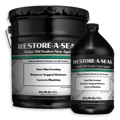 Restore Old Clear Acrylic Floor Sealer - Restore-A-Seal