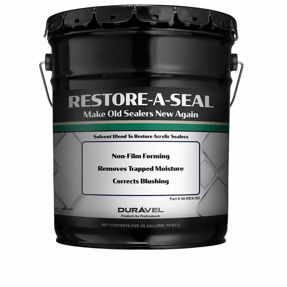 Restore Old Clear Acrylic Floor Sealer - Restore-A-Seal by DURÁVEL