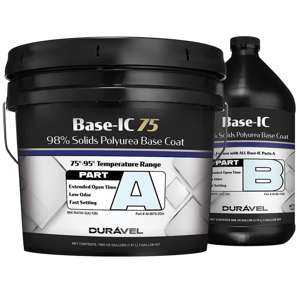 75-95F Application Temperature Polyurea Base Coat