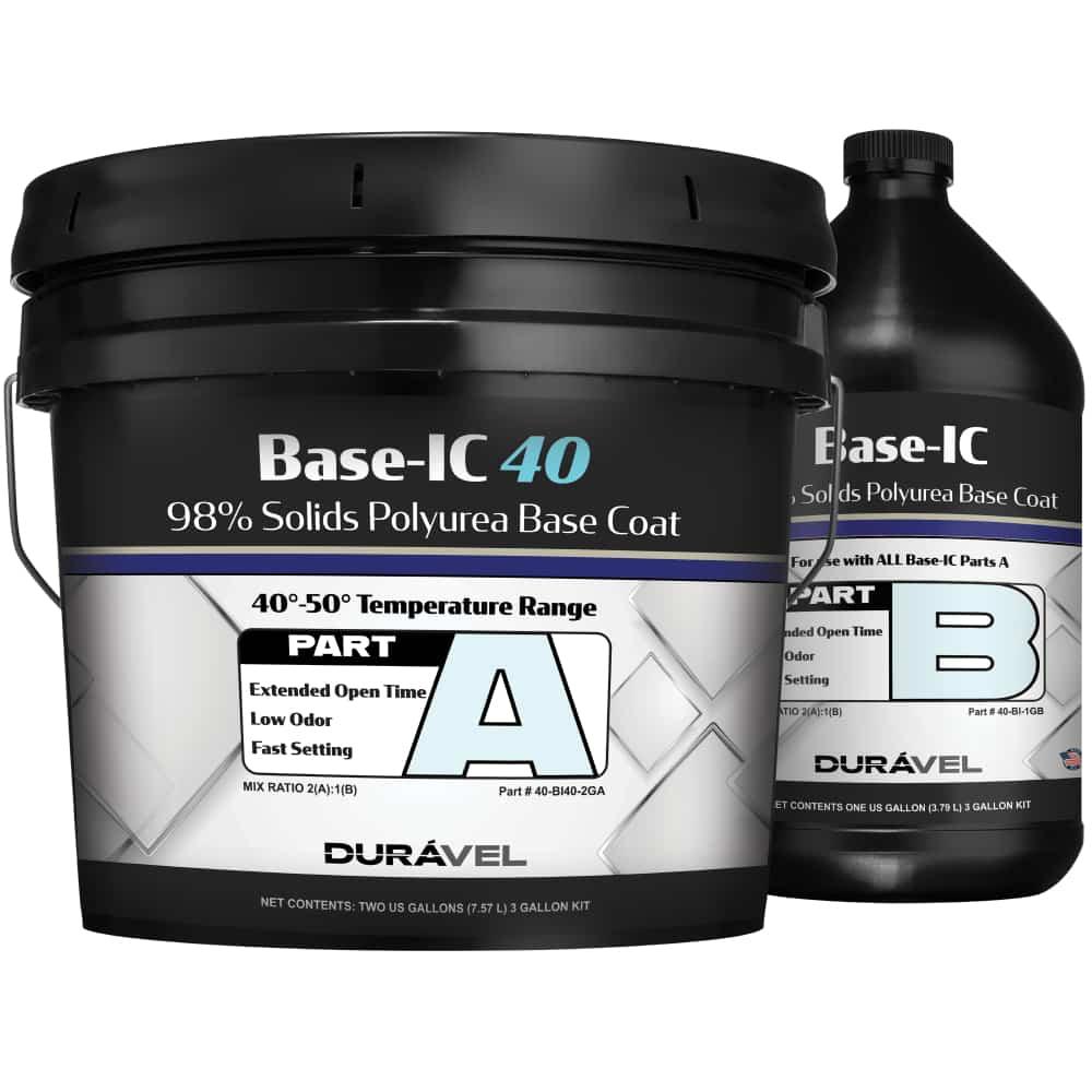 40-50F Application Temperature Polyurea Base Coat