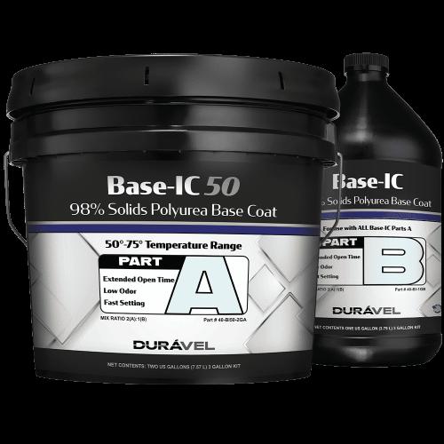 50-75F Application Temperature Polyurea Base Coat