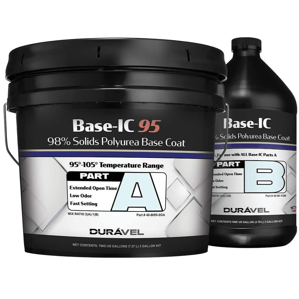 95-150F Application Temperature Polyurea Base Coat
